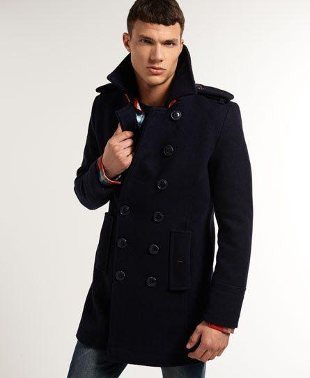 Superdry Bridge Coat | Coat, Jackets, Sports jacket