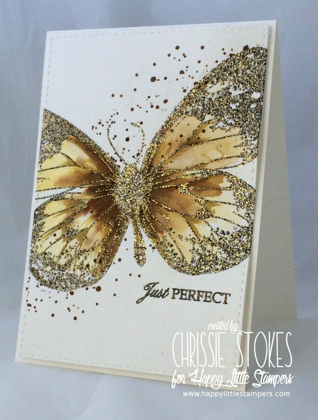Simply One of a Kind: Happy Little Stampers July Challenge!
