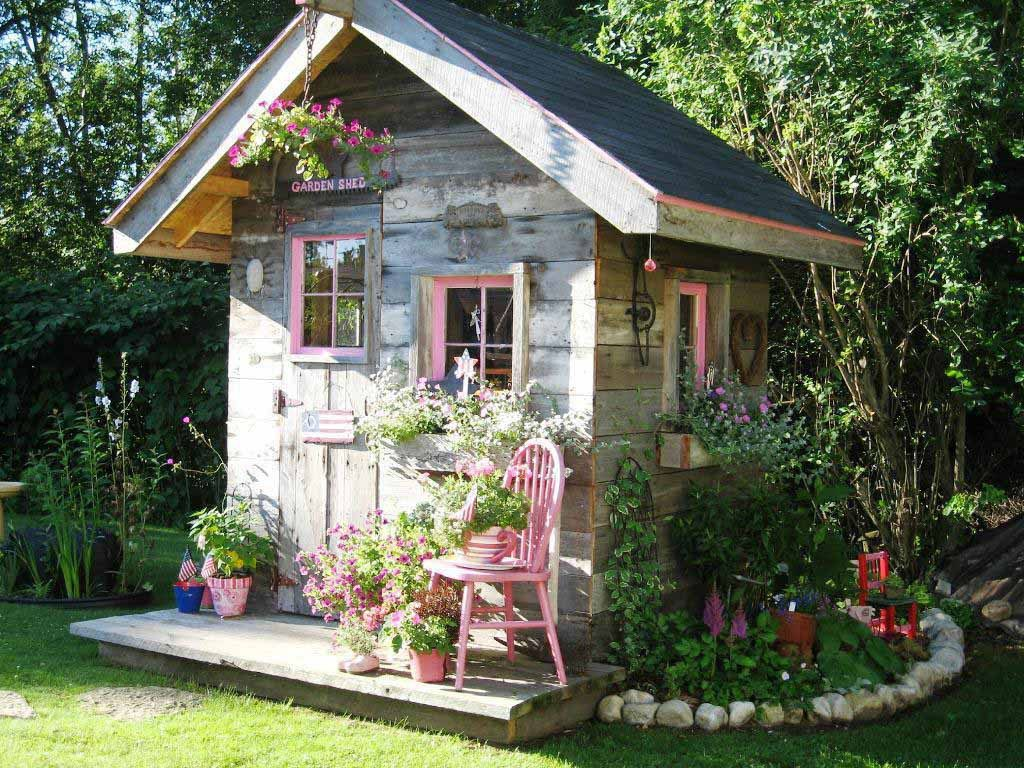 Farmhouse She Shed