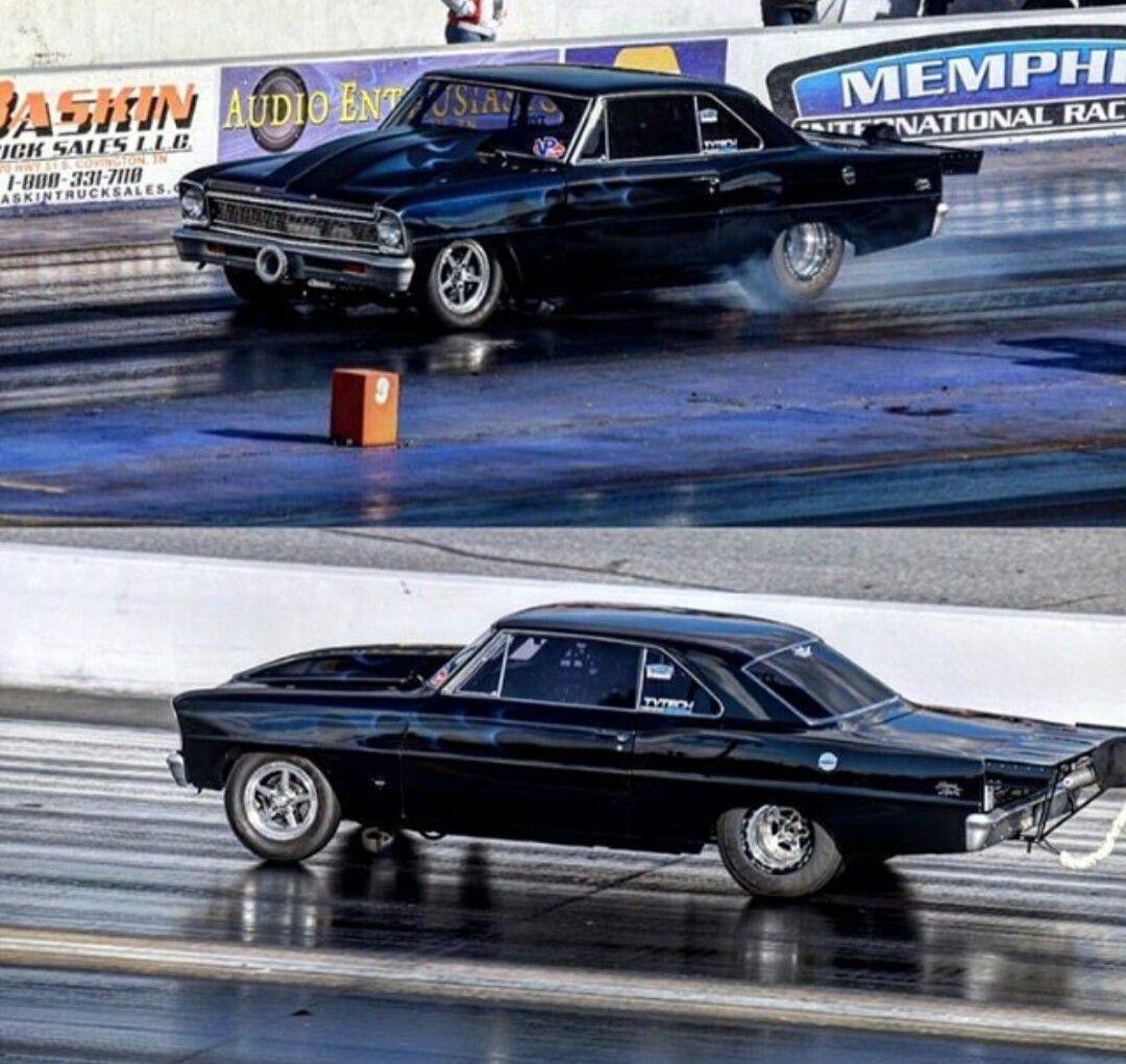 Chevy II Nova Old school muscle cars, Drag racing