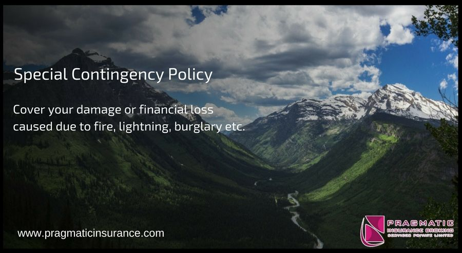 Special Contingency Policy Cover Your Damage Or Financial Loss