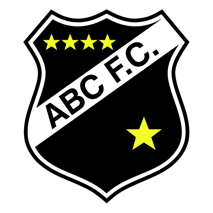 Free Vector Abc Futebol Clube De Natal Rn Abc Soccer Logo Football Logo
