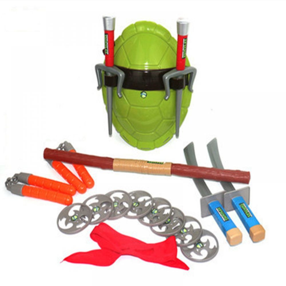 Ninja Turtles Cos Dressed 5styles Weapon Suits Turtle Shell Mask