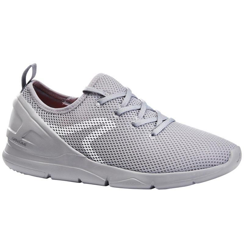 Buty Do Chodzenia Damskie Pw 100 Ciemnoszare Best Walking Shoes Shoes Women Shoes