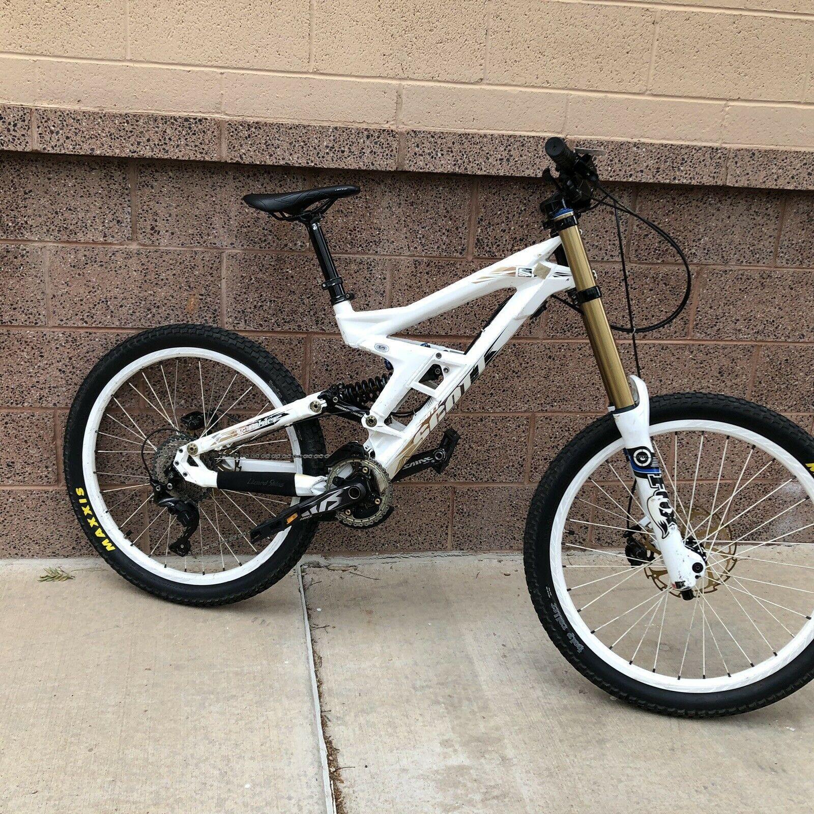 Mountain Bike Scott Gambler Dh20 Downhill Bike Fox 40 Shimano Xt