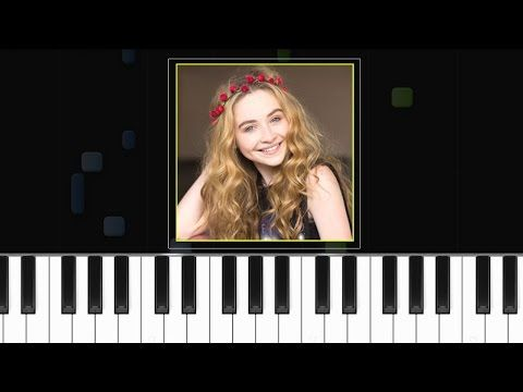 Sabrina Carpenter Too Young Piano Tutorial Chords How To