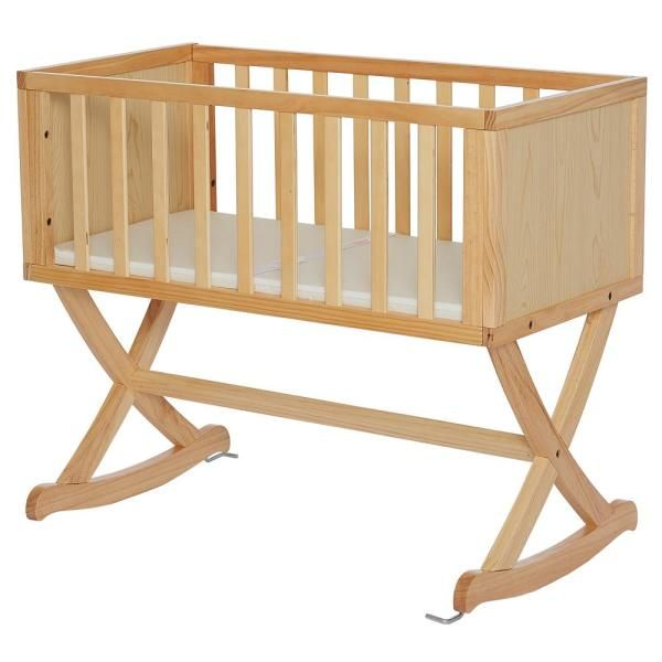 Dream On Me Haven Natural Cradle-641-N - The Home Depot in ...