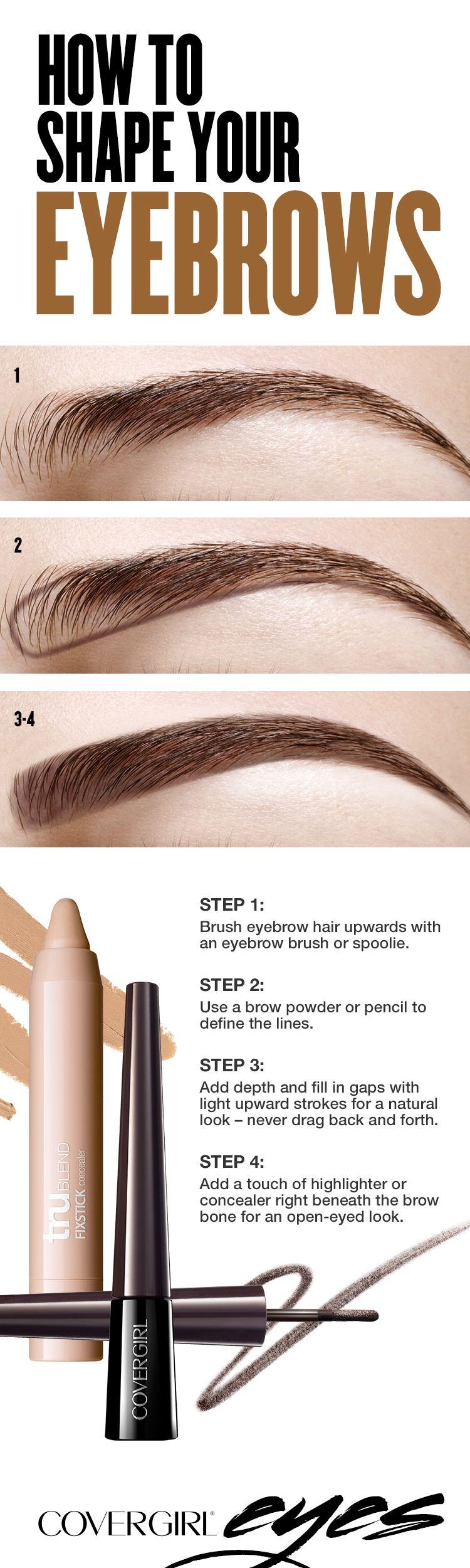 A tratar se ha dicho maquillaje pinterest bold eyebrows brow