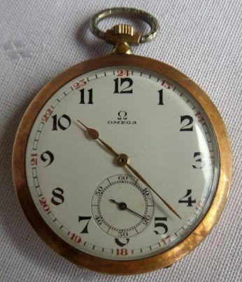 8e4761c31d5 Antigo relógio de bolso suíço em plaquet dor da marca Ômega. Máquina  necessitando de revisão. No estado. Leilão Online - 09 12 2014 às 15h.  Compartilhe!