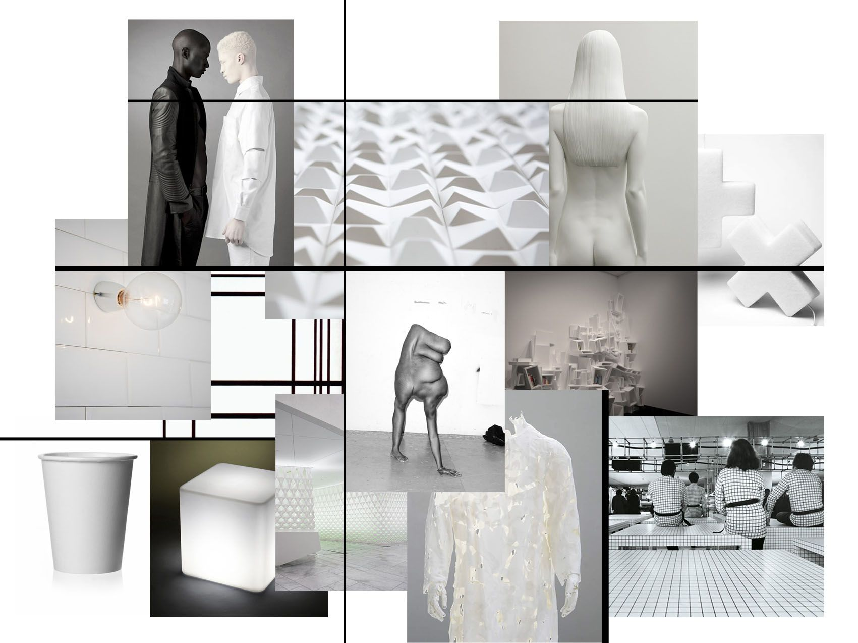Moodboard Editorial BoardPresentation BoardsLarge WhiteDesign