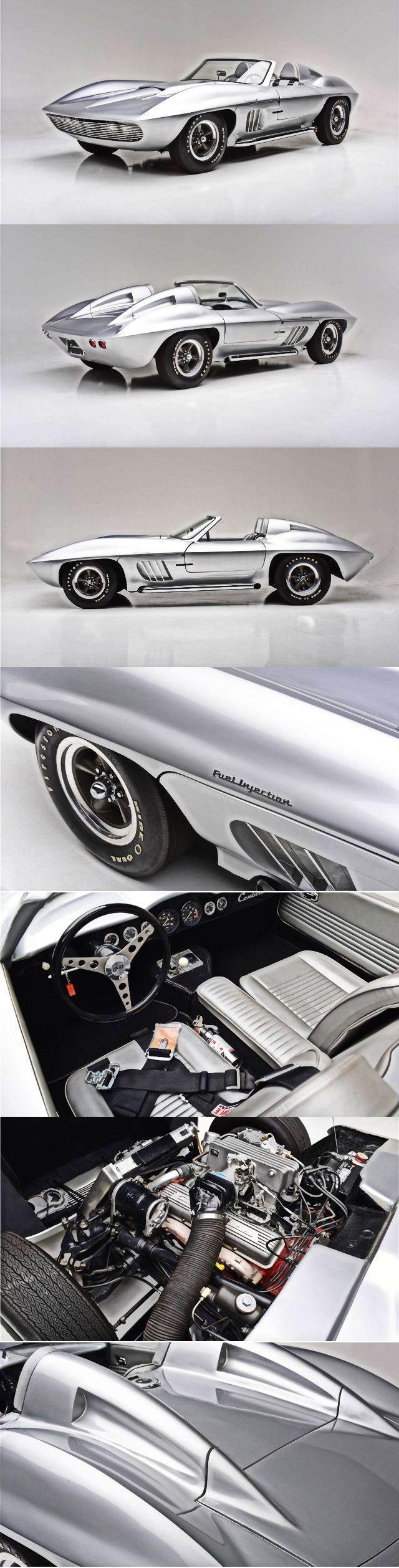 1958 Chevrolet Corvette Fiberfab Centurion #chevroletcorvette1958 ...