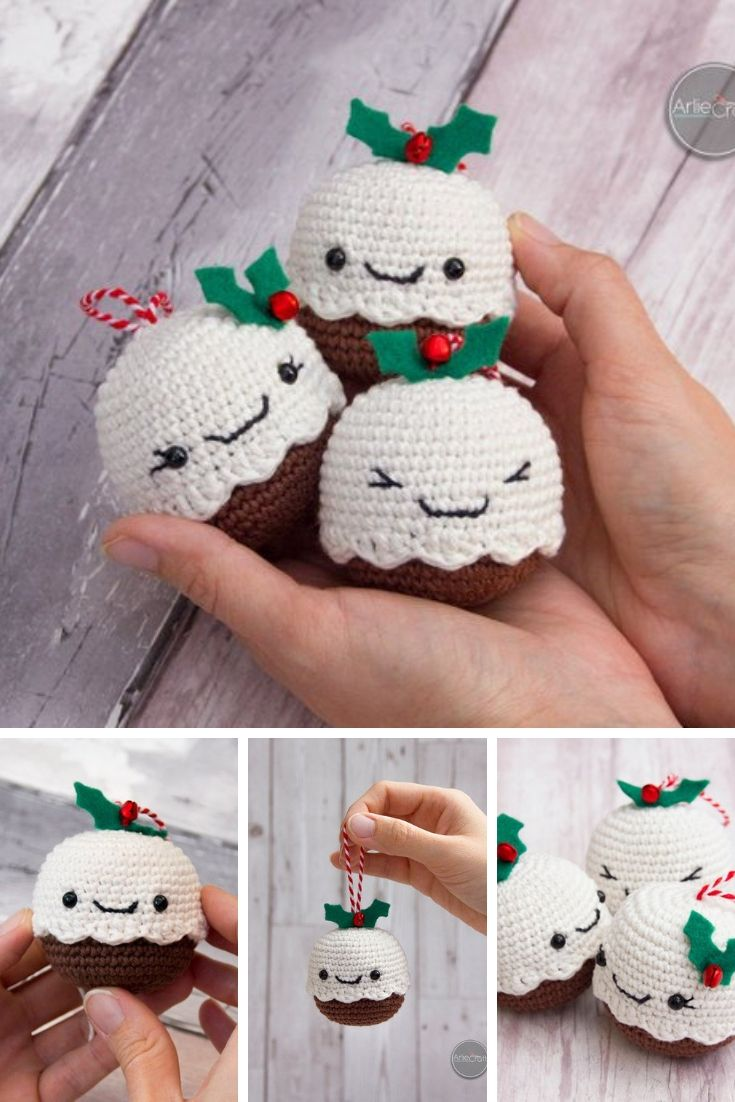 Crochet Christmas Decorations {Make some cute ornaments for your tree!}