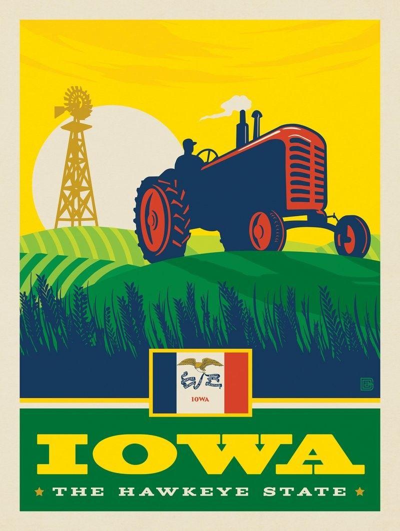 Anderson Design Group American State Pride Iowa State