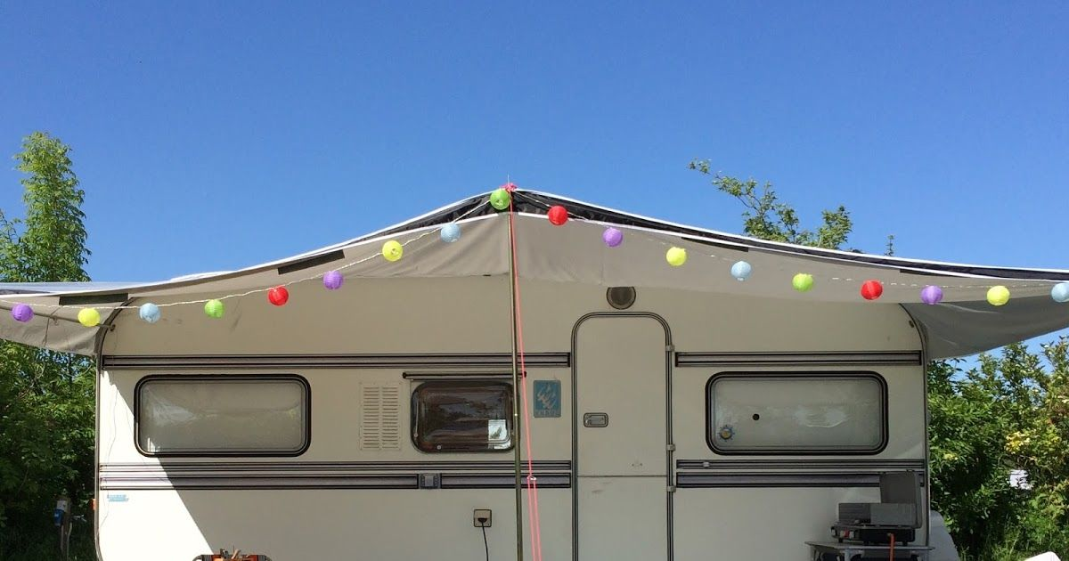 Wohnwagen Mit Außenküche : Urlaub mit dem wohnwagen wäscheleine camping campingplatz