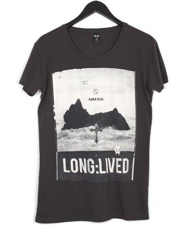 Long Lived T-Shirt Vintage Black