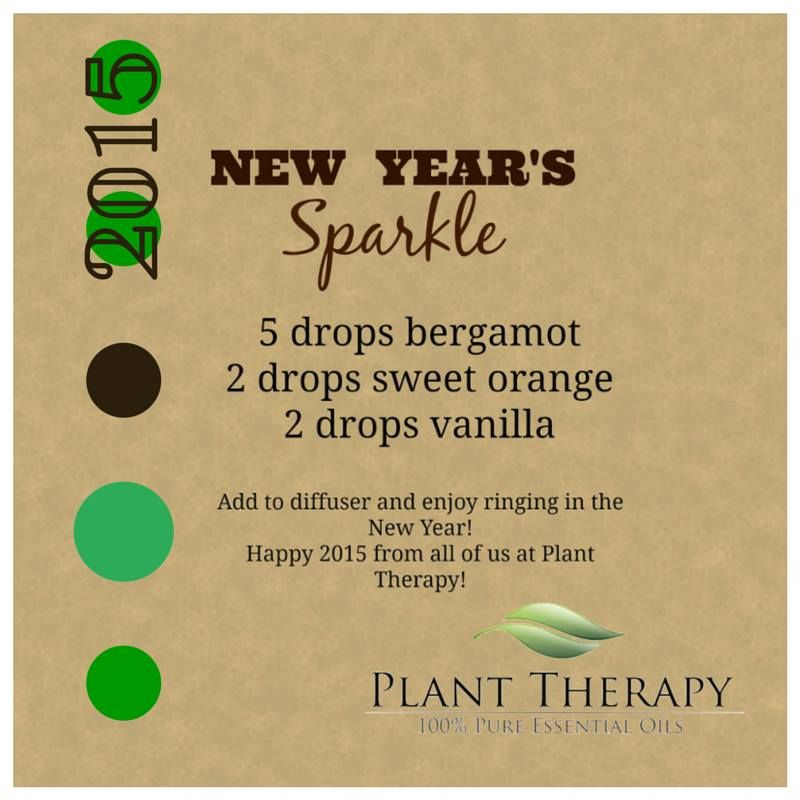 New Year's Sparkle Diffuser Blend