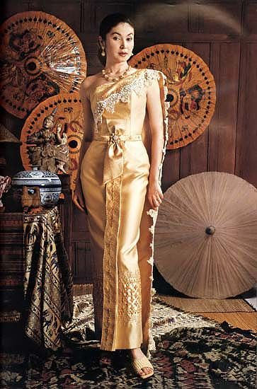 Thai dresses images