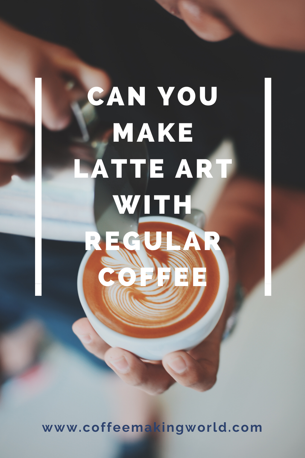 CAN YOU MAKE LATTE ART WITH REGULAR COFFEE in 2020 | Latte ...