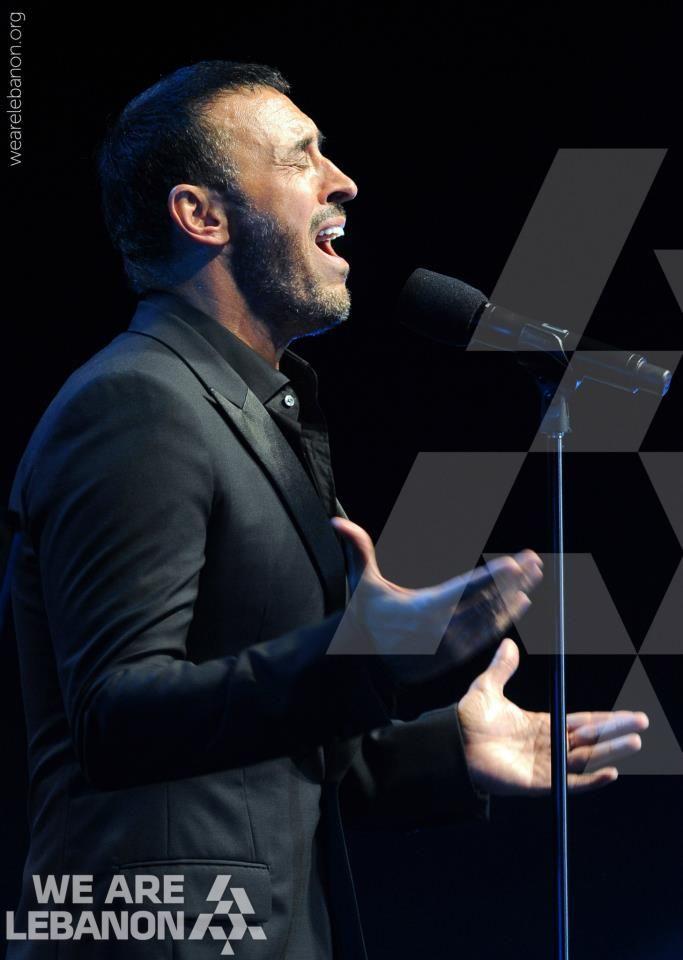 Kazem El Saher at Byblos Festival   كاظم الساهر في مهرجان بيبلوس
