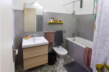 La peinture pour carrelage qui cache les joints for Blanchir joint salle de bain