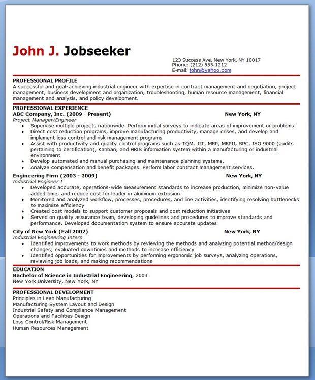Industrial Engineering Resume Samples Resume Downloads Engineering Resume Industrial Engineering Nursing Resume Template