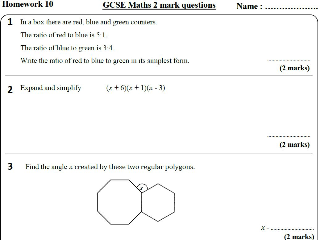 Interior Angles Of A Triangle Worksheet Dengan Gambar