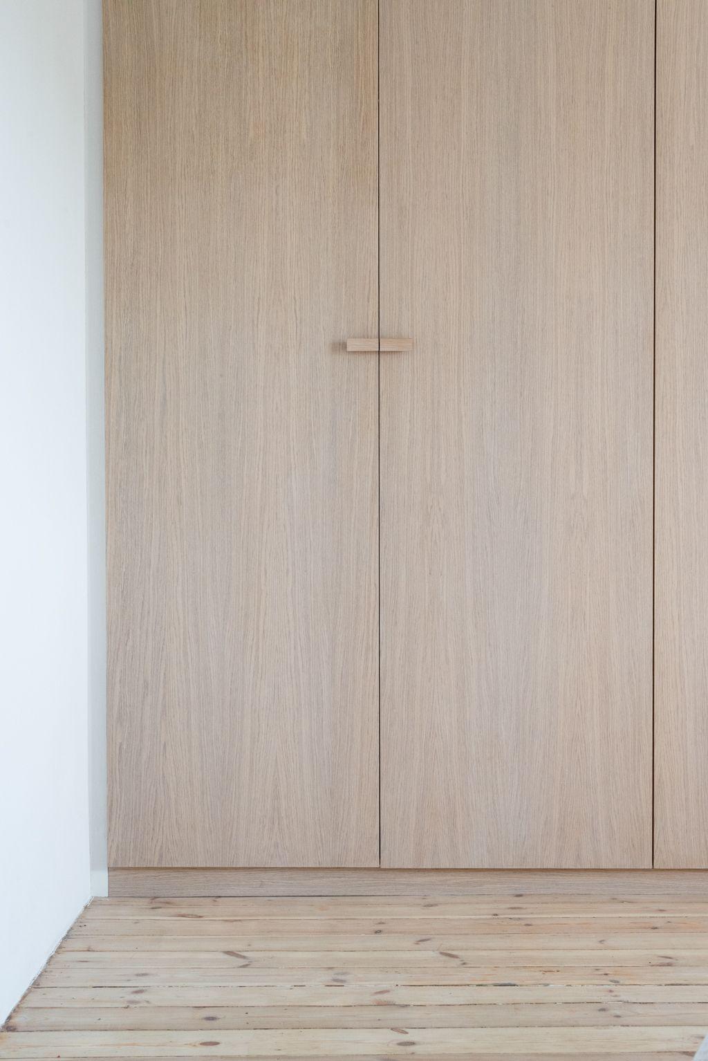 Loft bedroom wardrobe ideas  House in Pogodno  Interior design  Loft Szczecin  Finition