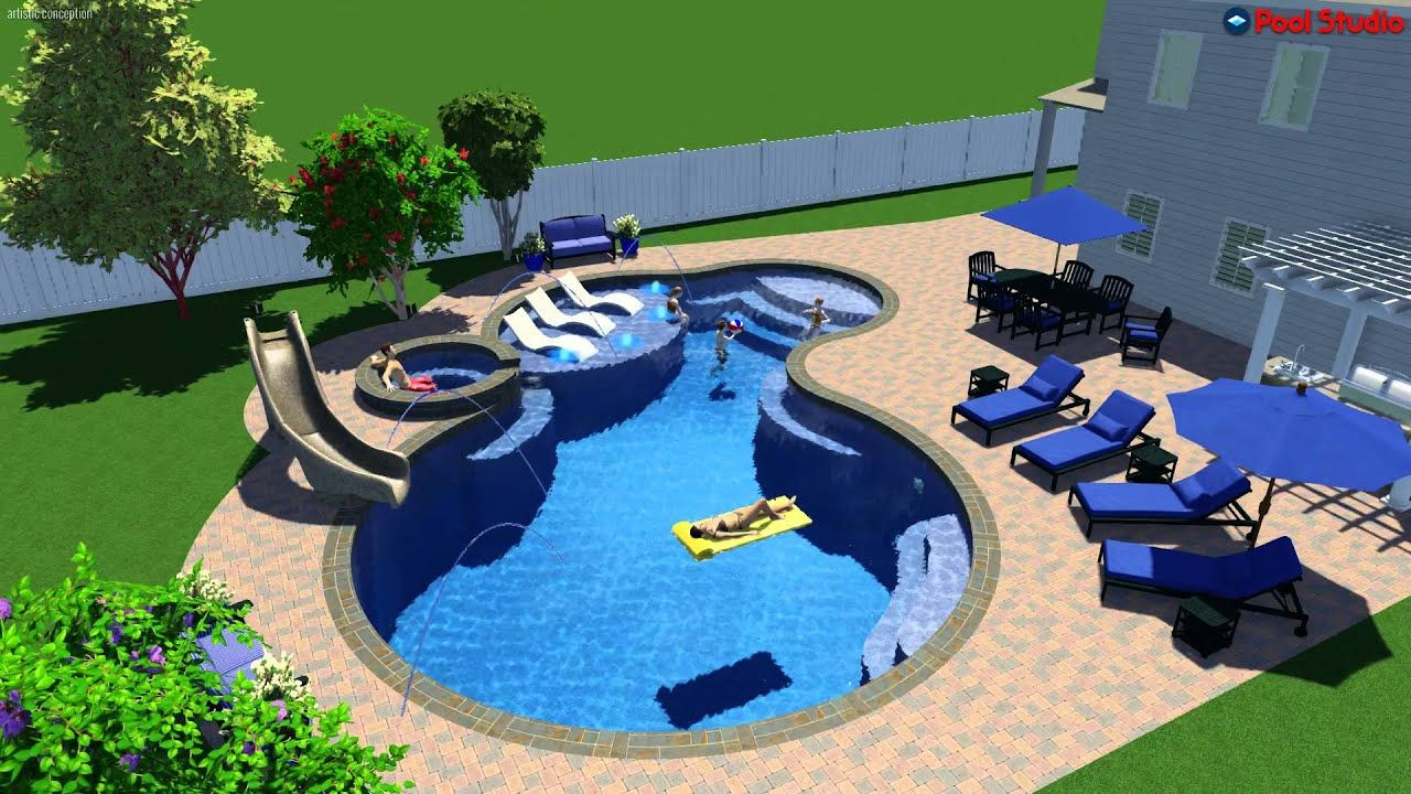 Swimming Pool Design App In 2020 Swimming Pool Designs Swimming