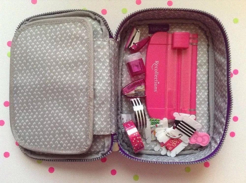 c77871cf5ba1 Kipling 100 Pen Pencil Case Travel Pouch for Makeup Planner Supplies ...