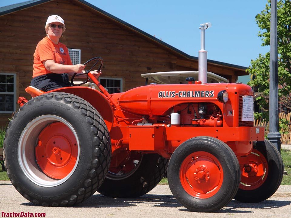Allis Chalmers Orange Paint Pictures to Pin on Pinterest ...