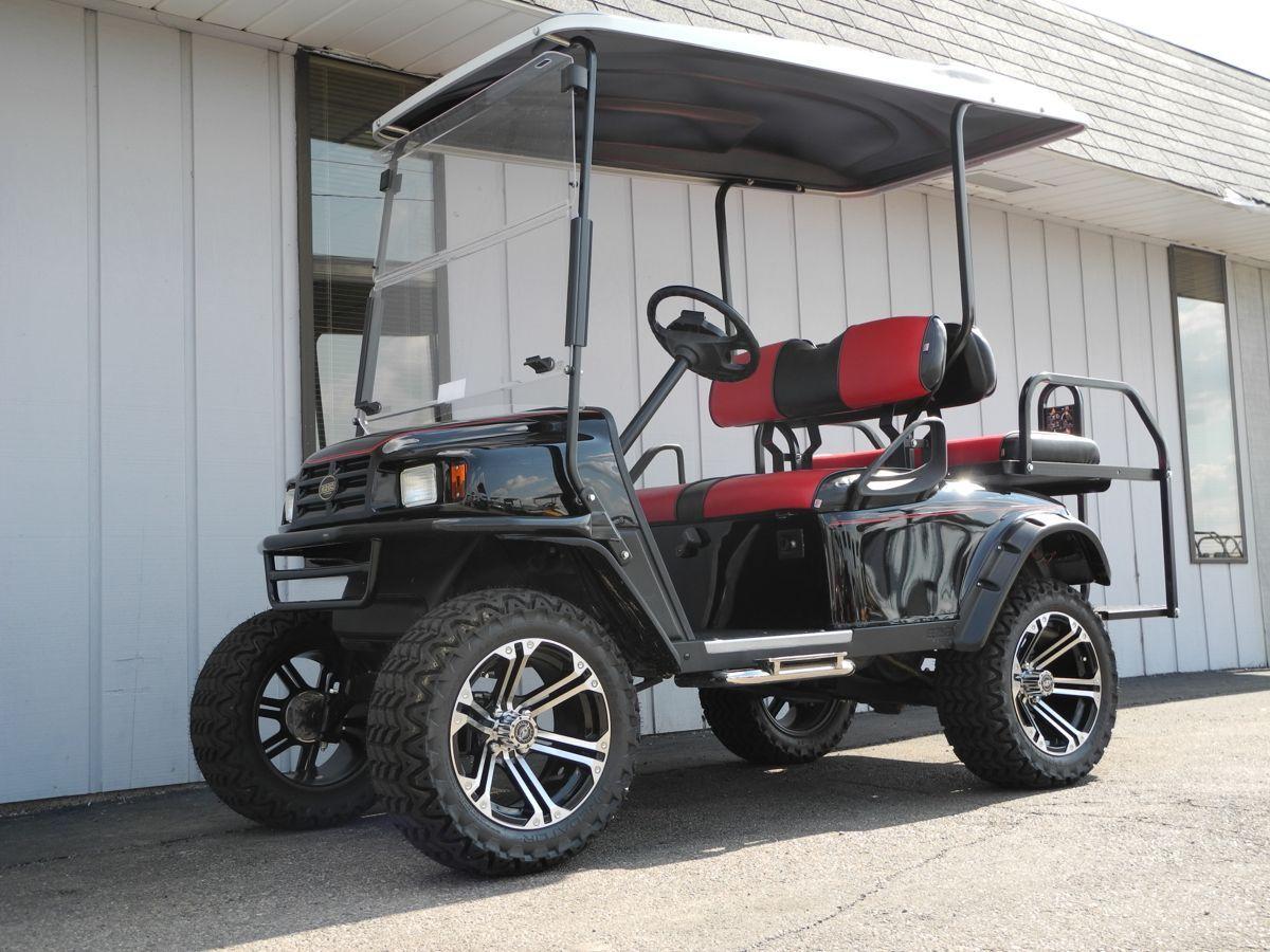 Yamaha Golf Cart Mag Wheels