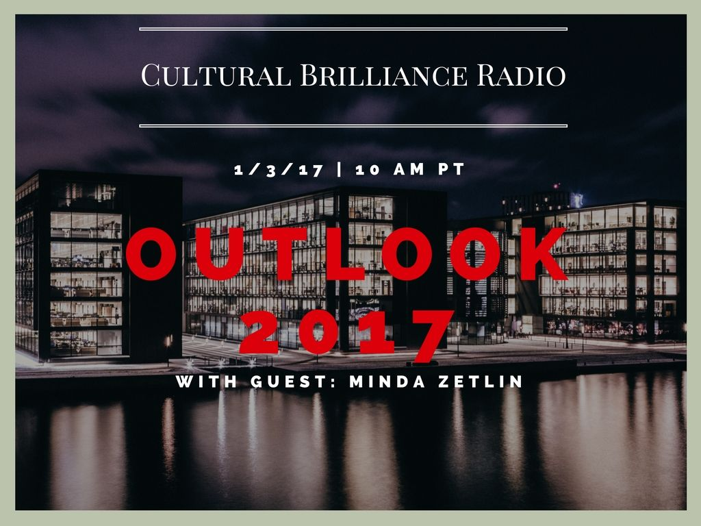First show of the year! Tune into Cultural Brilliance