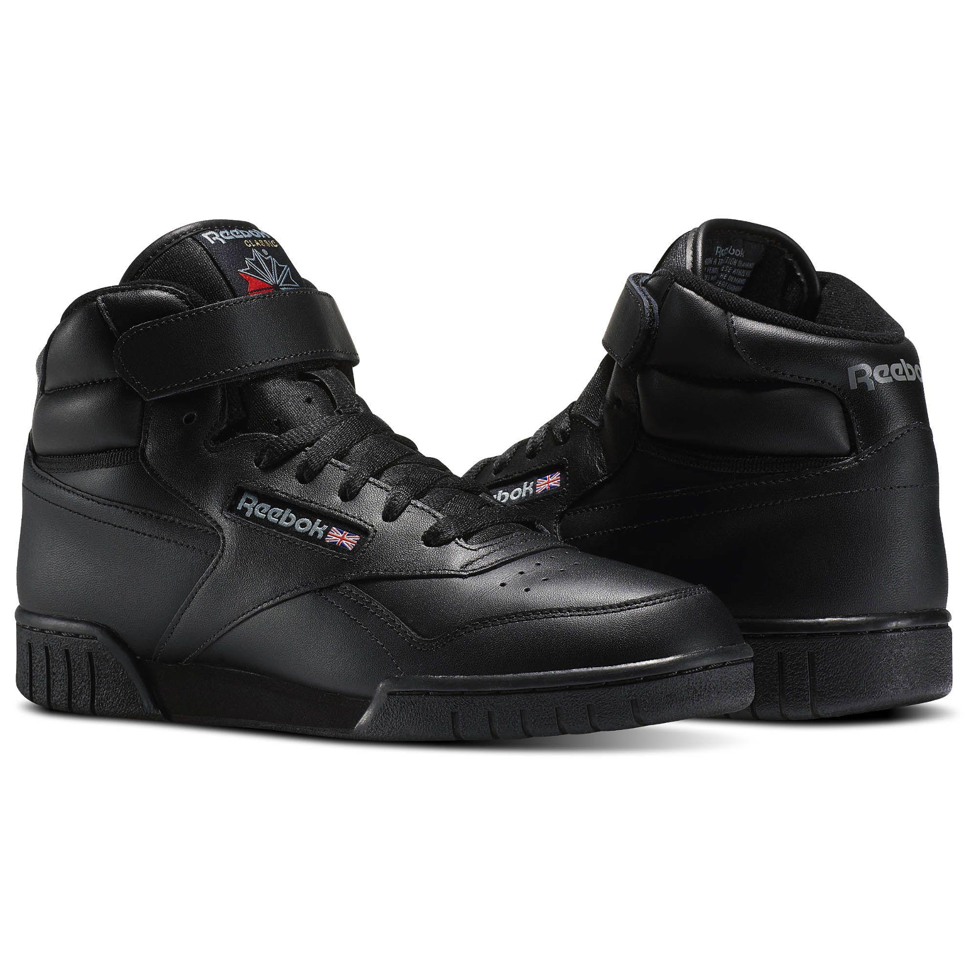 Reebok EX-O-FIT Hi Men's Shoes - Black