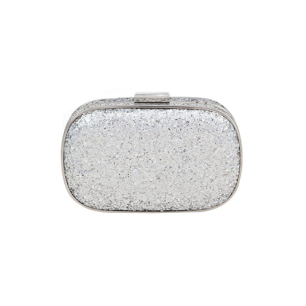 Holster Dazzle Silver Glitter Clutch