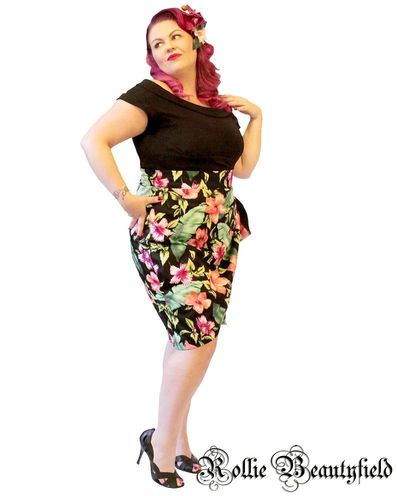 NEW!!!! Eva tiki floral skirt
