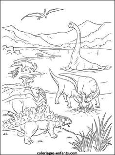 Kleurplaat Dino Gambarq Coloring Pages Dinosaur Coloring Pages