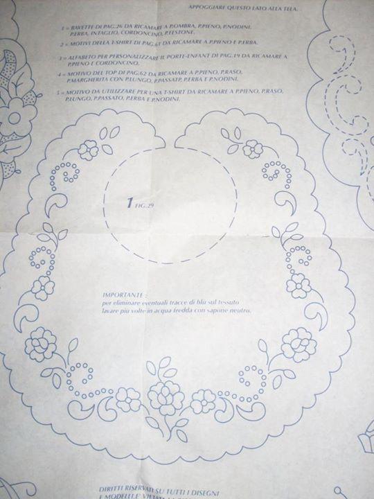 embroidery pattern #ajuar | BORDADO A MANO | Pinterest | Bordado ...