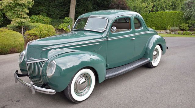1939 Ford Deluxe Coupe Ford Motor Company Dearborn Michigan 1903 Present With Images Classic Cars Ford Classic Cars Ford Motor