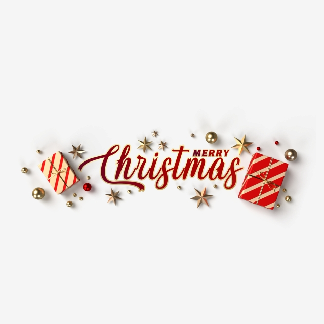 The Inscription Merry Christmas Surrounded By Gifts And Golden Balls And Stars On A Transparent Background 3d Render Merry Winter Decoration Png Transparent Merry Christmas Banner Merry Christmas Banners