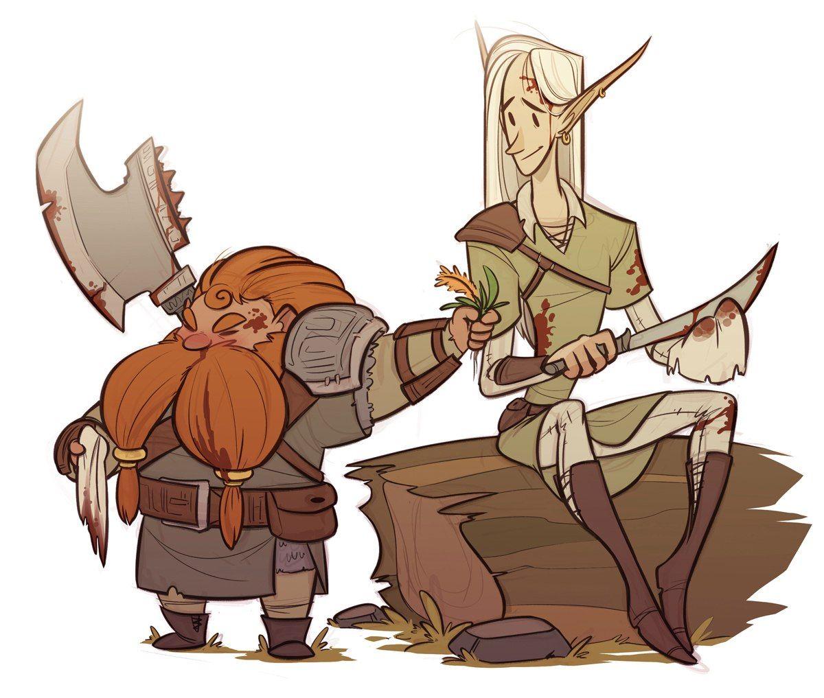 Legolas and Gimli … | Pinteres…