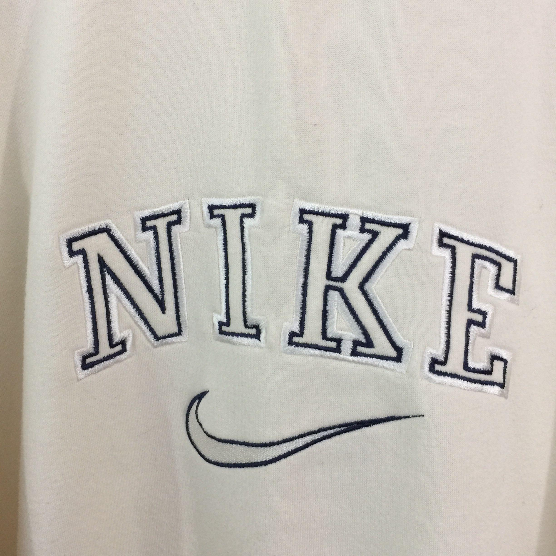 Vintage Nike Sweatshirt Label Size Medium Cream Depop Vintage Nike Sweatshirt Nike Sweatshirts Vintage Hoodies [ 2448 x 2448 Pixel ]