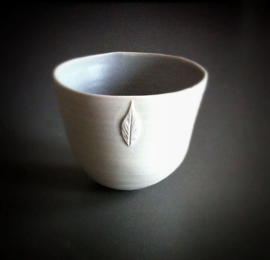 Porcelain bowl by Emma Clegg