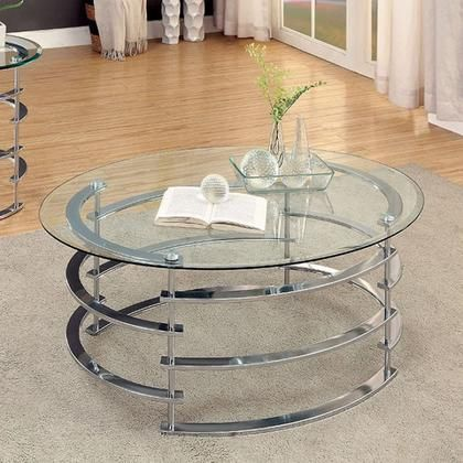 Clonmel Collection Cm4359crm C 44 Coffee Table With 8mm Clear