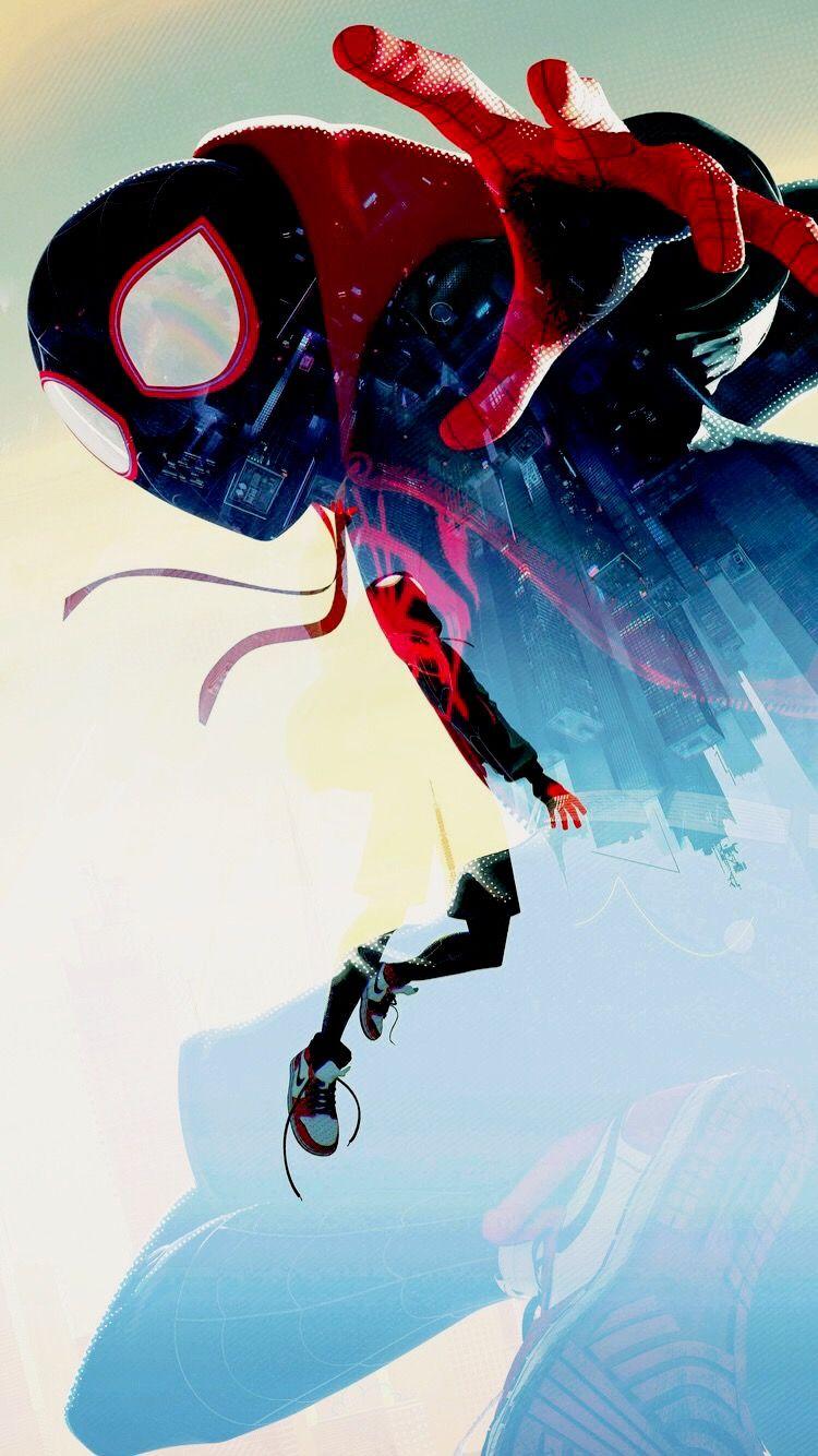 Spiderman Into The Spider Verse イラスト マーベルコミック