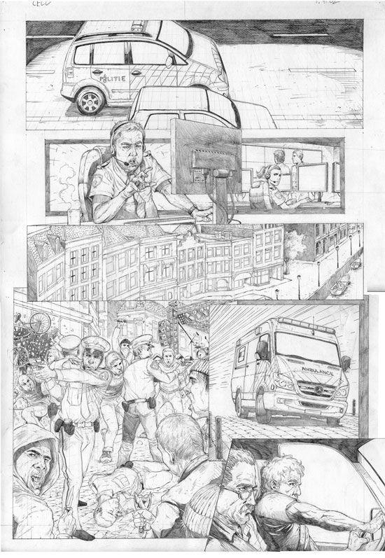Van de Poolse tekenaar Przemyslaw Klosin en de Nederlandse scenarist Sytse S. Algera verschijnt in maart 2014 bij uitgeverij Dark Dragon Books de hedendaagse thriller Cell met het verhaal over een gewone Amsterdamse jongen Moestafa die tegen wil en dank betrokken wordt bij een terroristische aanval in Nederland.