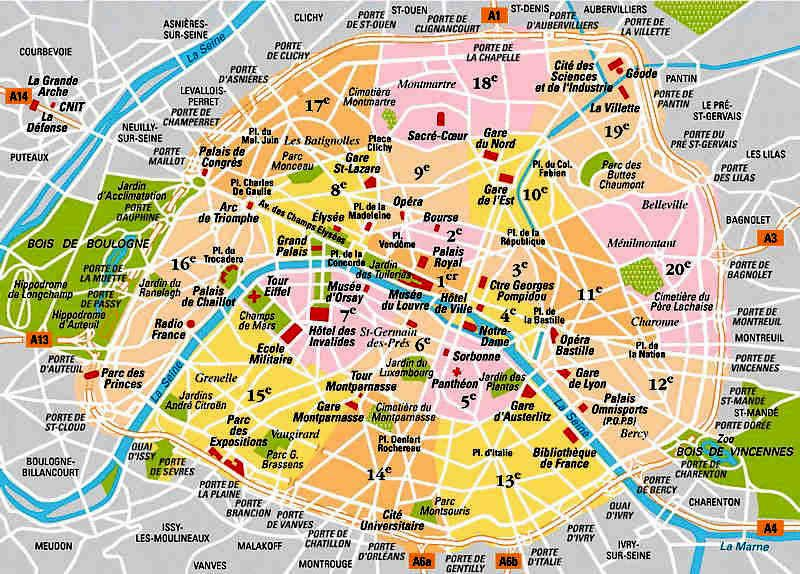 Paris Map Arondissement Ppt Google Search Plan Paris Paris