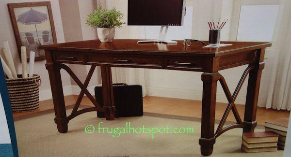 Bayside Furnishings Writing Desk Costco Frugalhotspot