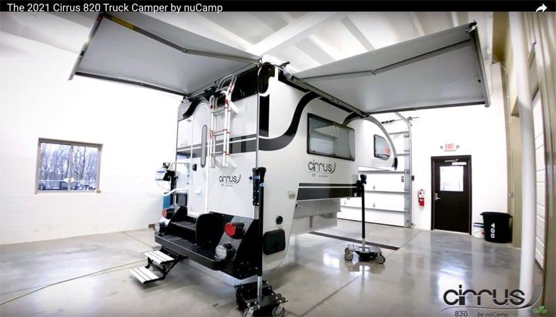 2021 Cirrus 820 Walk Through Video in 2020 Truck camper