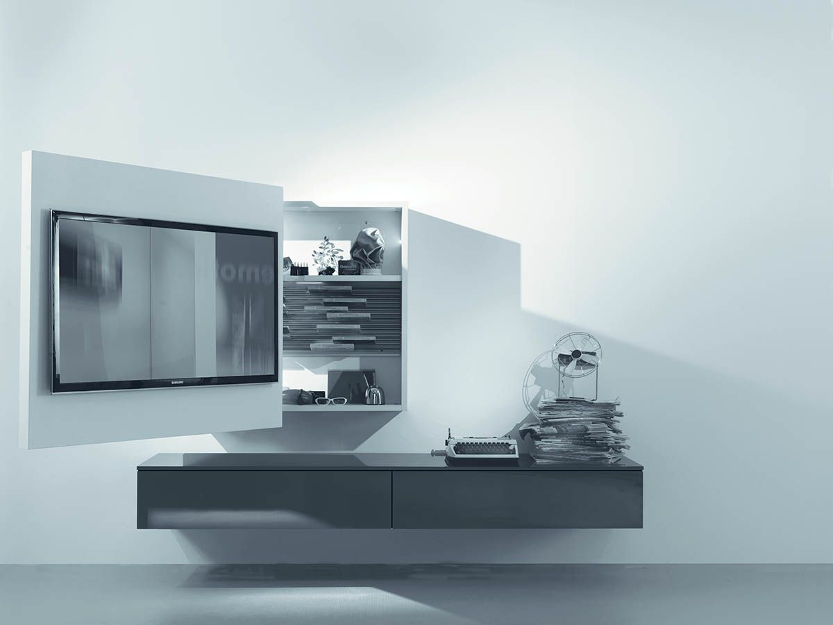 Porta tv orientabile, porta-tv girevole by Fimar | tv | Pinterest ...