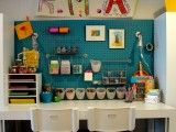Great craft space for kids!